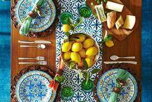 Moroccan setting