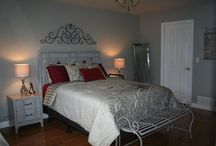 """Before & After / This was a redesign completed for a client's bedroom. We did everything including the furniture redesign. Some of the product even came from """"our shoppe"""""""