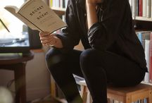 A Girl  and a Book / by Susan Rawlins