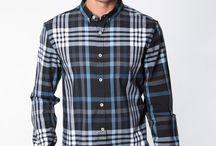 ∞ lifestyle | plaid shirts / Plaid, check, tartan, geometrical, shirt, men, male fashion