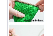 Knitting Tutorials / Tutorials on knitting techniques, knitting stitches, how-to's, DIY