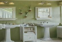 ROOM: Bathrooms / Bathrooms are very functional space in your home but they can also be beautiful. Get some inspiration from these beautiful rooms.
