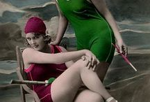 Fashion - interwar Swimwear