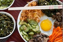 Korean food / Healthy, vegetarian, gluten free