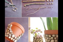 pots / decorating pots and interesting uses for pots