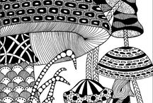 Mushrooms ART