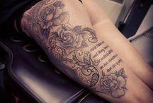 Tetovanie na stehne