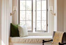 * window seat * / Window Seat. Window with a view.