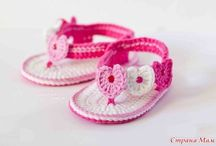 Free Pattern baby shoes