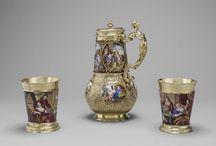 Art de la table / Table Art / Les objets d'art de la table visibles au Musée du Louvre