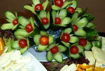 Dekorace z jídla