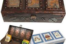 Askar lådor steampunk