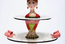 Funny and Unique Cake Stand / For any celebration, cake stand brings the mood of the party, and in fact it resembles the theme and joy of party. So we love to choose unique as well as special loving cake stand to occupy the table around joyful crowd.