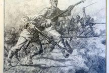 Georg Ehmig / Zeichnungen von Georg Ehmig aus 1916 bis 1918