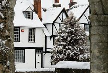 Snowy England