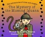 The Mystery of the Missing Iguana / Alex and his pet chimpanzee Angelo are the young detectives of their neighborhood. When a friend's pet Iguana goes missing, Alex and Angelo immediately take on the case, and the sneaky reptilian leads them on an exciting chase. How will alex and Angelo use their sleuthing skills to solve this mystery?
