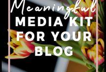 Blog Media Kit Templates