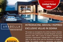 Tata Arabella Villas / Tata Arabella Villas - designed to fit in with your lifestyle & the natural environment. It offers 4 and 5 BHK, king sized villas right in the heart of the next destination in Sohna, South of Gurgaon.