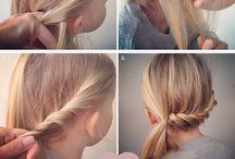 litle girl hair