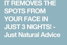 REMOVE SPOTS FROM YOUR FACE
