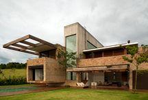Moderní domy-Modern houses