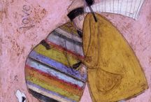 ILL: SAM TOFT / Very different paintings depicting love and togetherness of weird characters