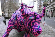 yarn bombing / by Pamela Welborn