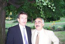 Yekta Uzunoglu - Yekta Uzunoglu s policejním prezidentem Oldřichem Martinů 2007 / Kurdish people kurdistan  Yekta Uzunoglu s policejním prezidentem Oldřichem Martinů na německém velvyslanectví v srpnu 2007
