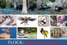 "FLOCK:Birds on the Brink / ""FLOCK: Birds on the Brink"" at Lotusland till May 23rd. This contemporary art exhibit is inspired by an environmental imperative – the global loss of wild bird populations and their role as indicators of the health of our planet."