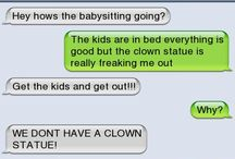 Creepy texts