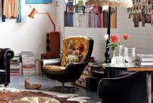 Dwell on it. / Inspiring rooms. A little mid-century. A little modern. A little bohemian.