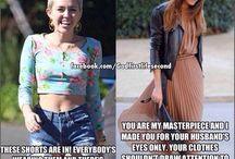 God ..modesty