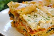 Kale lasagna / Recipe