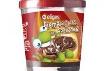 Dulce / Chocolates, cacaos, cremas... Pasteles, galletas, bollería industrial, cereales para el desayuno..