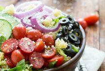 salads / by Sondra English Koleff