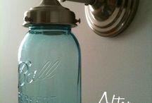 Mason Jar Ideas/Uses