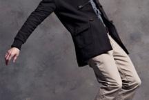 men pose