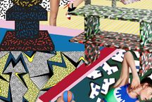 Sport Modernism / Active prints with a modern art influence