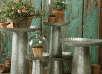 galvanized and corrugated / metal stuff / by Pat Young