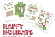 christmas printables / by William Perry
