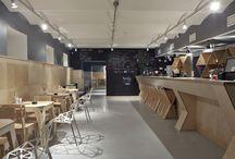 Cafe and Restaurant Interior