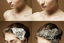 A few cool hairpieces and veils