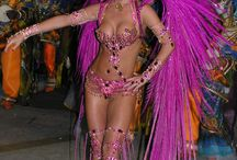 Brazilian samba costumes / My costumes designed & created by me!