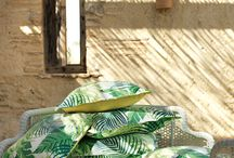 Tantilizing Sanderson Fabrics / The moguls in fabric design...Sanderson offers printed designs on cotton, linen and silk, together with jacquard and dobby weaves, embroideries, sheers and a wide range of plains suitable for curtains, upholstery and soft furnishings.