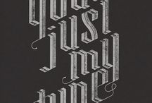 Type driven posters / for aaa brief 4