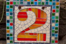 Mosaic House Numbers / Address/House numbers