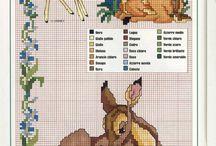 Keresztszemes minták (Bambi)