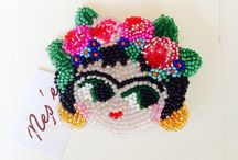 Beadwork Brooches