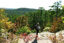 road trips - hiking