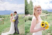 Real Wedding: Emilie & Jan / A rustic backyard wedding in Terrace BC, full of intimate and personal DIY decor ideas